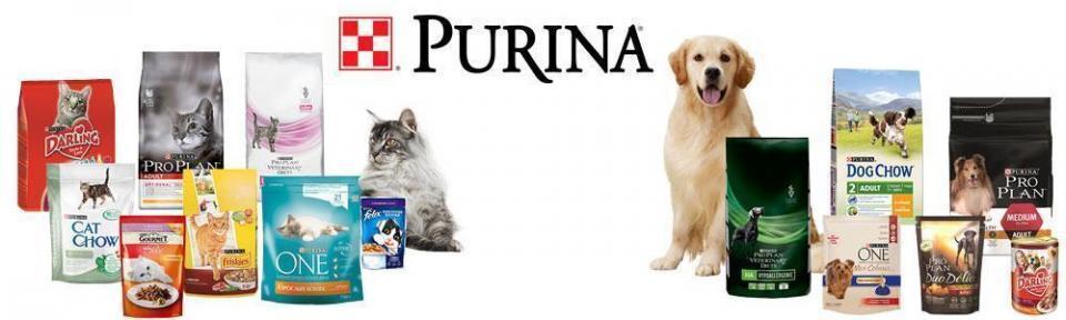 Purina - корма для животных