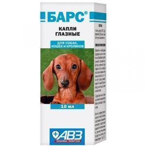 АВЗ Барс капли глазные для кошек и собак