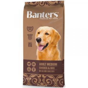 Banters Adult Medium Сухой корм для собак средних пород Курица/Рис