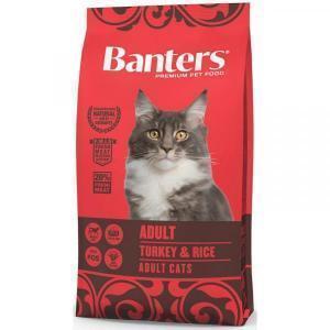 Banters Adult Сухой корм для кошек Индейка/Рис