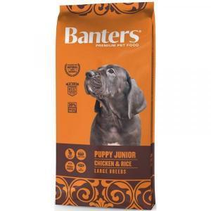 Banters Puppy Junior Large Сухой корм для щенков крупных пород Курица/Рис