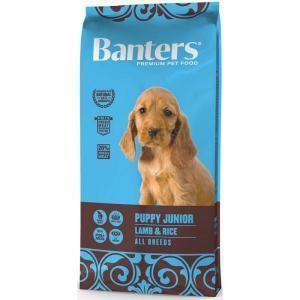Banters Puppy Junior Сухой корм для щенков Ягненок/Рис
