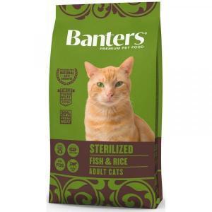 Banters Sterilized Сухой корм для стерилизованных кошек Рыба/Рис