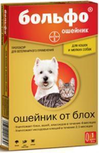 Bayer Bolfo ошейник для кошек