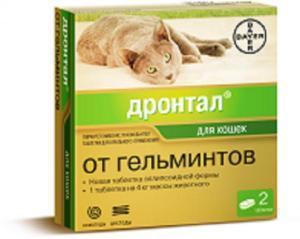 Bayer Дронтал для кошек