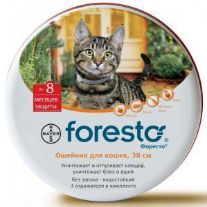 Bayer Foresto ошейник для кошек