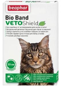 Beaphar Ошейник Bio от блох, клещей и комаров для кошек и котят