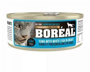 Boreal Консервы для кошек Тунец в соусе