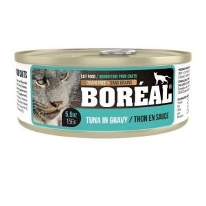 Boreal Консервы для кошек Тунец/Белая рыба