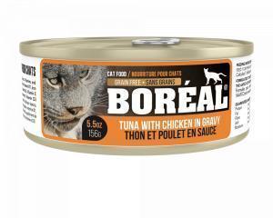 Boreal Консервы для кошек Тунец/Курица