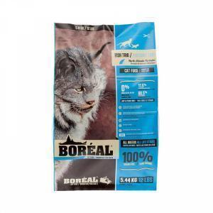 Boreal Original Сухой беззерновой корм для кошек 3 вида рыбы