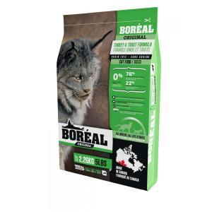 Boreal Original Сухой беззерновой корм для кошек Индейка/Форель