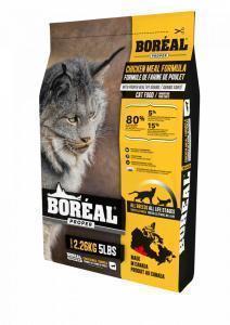 Boreal Proper Сухой низкозерновой корм для кошек Курица