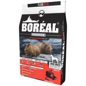 Boreal Proper Сухой низкозерновой корм для собак крупных пород Красное мясо
