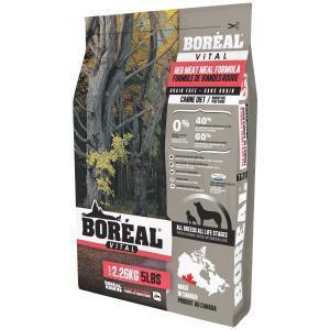 Boreal Vital Сухой беззерновой корм для собак Красное мясо