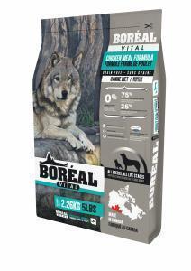 Boreal Vital Сухой беззерновой корм для собак Курица