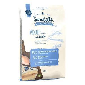 Bosch Sanabelle Adult with Trout сухой корм для взрослых кошек домашнего содержания с Форелью