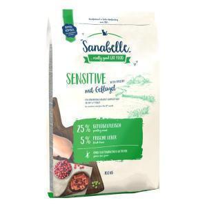 Bosch Sanabelle Sensitive with Poultry сухой корм для взрослых кошек с чувствительным пищеварением с Птицей
