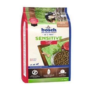 Bosch Sensitive Lamb & Rice сухой корм для взрослых собак склонных к аллергии