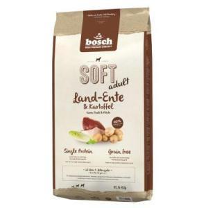 Bosch Soft с уткой и картофелем полувлажный корм для собак