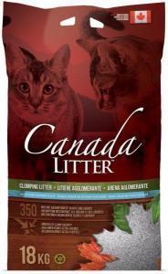 Canada Litter baby powder наполнитель с ароматом детской присыпки