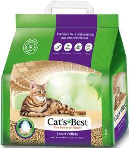 Cat's Best Smart Pellets наполнитель комкующийся крупная гранула