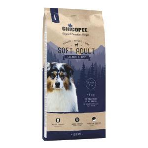 Chicopee CNL Soft Adult Salmon&Rice Полувлажный корм для собак Лосось/Рис