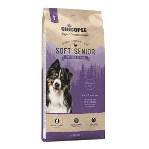 Chicopee CNL Soft Senior Chicken&Rice Полувлажный корм для пожилых собак старше 7 лет Курица/Рис