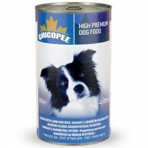 Chicopee Dog Chunks Lamb Rice Консервы для собак Ягненок в соусе