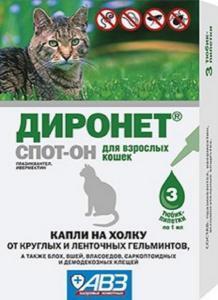 Диронет (Барс) спот-он