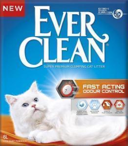 Ever Clean Fast Acting наполнитель контроль запаха