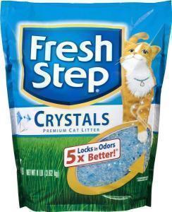 Fresh Step Crystals cиликагелевый наполнитель