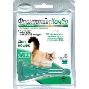 Фронтлайн Combo капли для кошек