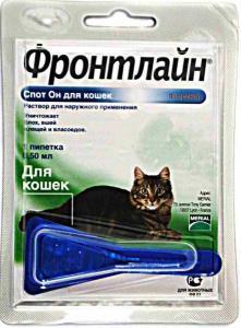 Фронтлайн Спот Он капли для кошек