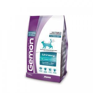 Gemon Cat PFB Urinary 34/14 Сухой корм для кошек с курицей и рисом для профилактики МКБ