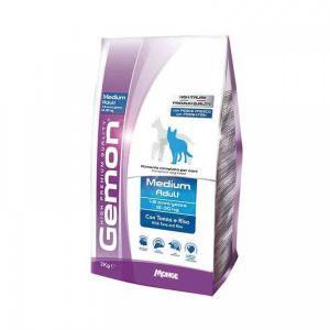 Gemon Dog Medium тунец с рисом для средних пород сухой корм для собак