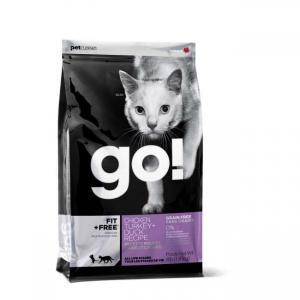 Go! Carnivore Сухой корм для кошек и котят 4 вида мяса с курицей, индейкой, уткой и лососем беззерновой