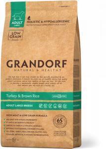 GRANDORF Turkey & Rice Adult Large Breeds Сухой корм для собак крупных пород Индейка/Рис