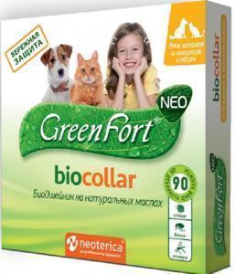 GreenFort neo Био ошейник для кошек