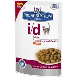 Hills Prescription Diet i/d Feline with Chicken Pouch диета для кошек влажный корм