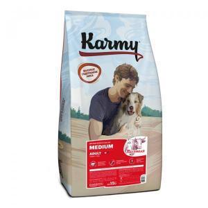 Karmy Medium Adult Сухой корм для собак средних пород, Телятина