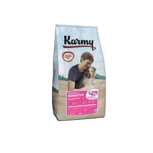 Karmy Sensitive Medium&Maxi Сухой корм для собак средних и крупных пород с чувствительным пищеварением, Лосось