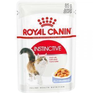 Влажный Корм для кошек Royal Canin Instinctive для профилактики МКБ (кусочки в желе)
