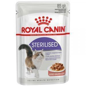 Влажный Корм для кошек Royal Canin Sterilised (в соусе)