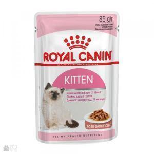 Влажный корм для котят Royal Canin Kitten Instinctive мясное ассорти (кусочки в соусе)