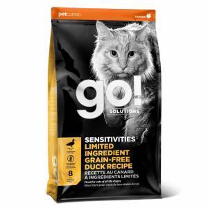 Корм GO! беззерновой для котят и кошек с чувствительным пищеварением, со свежей уткой, Sensitivity + Shine Grain Free Duck Cat Recipe