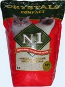 Наполнитель комкующийся Crystals N1 Compact