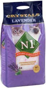 Наполнитель силикагелевый Crystals N1 Lavender