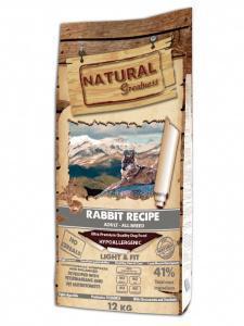Natural Greatness Rabbit Recipe Light&Fit сухой корм для собак