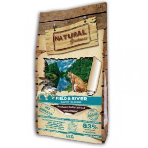 Natural Greatness Sensitive Field&River Сухой корм для кошек Лосось